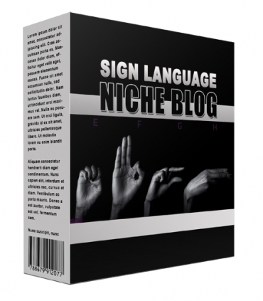 New Sign Language Flipping Niche Blog