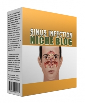 New Sinus Infection Flipping Niche Blog Private Label Rights
