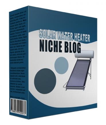 Solar Water Heater Flipping Niche Blog