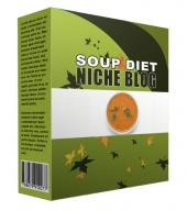 New Soup Diet Flipping Niche Blog Private Label Rights