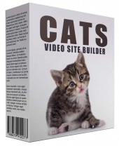 New Cats Video Site Builder Private Label Rights