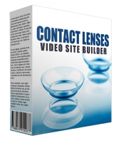 New Contact Lens Video Site Builder Private Label Rights