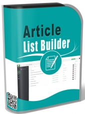Article List Builder Private Label Rights