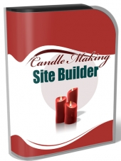 Candle Making Site Builder V2 Private Label Rights