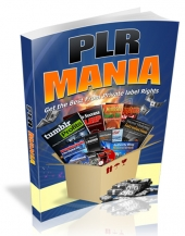 PLR Mania 2016 Private Label Rights