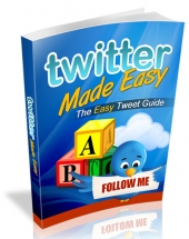Twitter Made Easy Private Label Rights