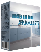 Kitchen and Home Appliance Review Website Private Label Rights