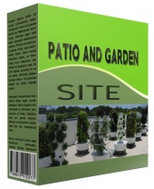 New Patio and Garden Review Website Private Label Rights
