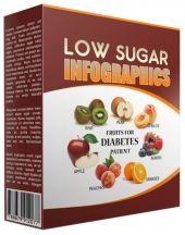 Low Sugar Infographic Private Label Rights