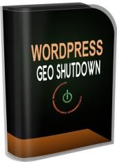 WP Geo Shutdown Private Label Rights