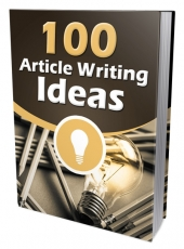 100 Article Writing Ideas Private Label Rights