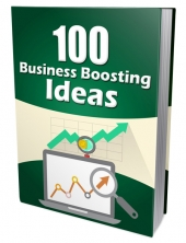 100 Business Boosting Ideas Private Label Rights