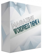New Magazine WordPress Theme V4 Private Label Rights