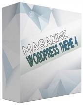New Magazine WordPress Theme V4 Private Label Rights