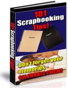 101 Scrapbooking Tips! Private Label Rights