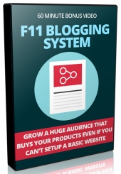 F11 Blogging System Private Label Rights