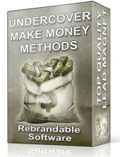 Under Cover Make Money Methods Software Private Label Rights