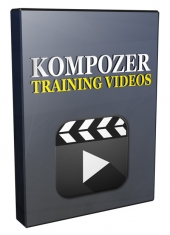 Kompozer Training Video Series 2016 Private Label Rights