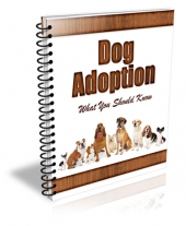 New Dog Adoptation PLR Newsletter Private Label Rights