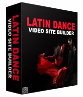 Latin Dance Video Site Builder Software Private Label Rights