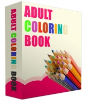 Adult Coloring Book Images Private Label Rights