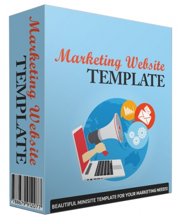 Marketing Website Template V43