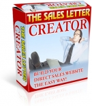 Sales Letter Creator Private Label Rights