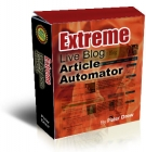 Extreme Live blog Article Automator Private Label Rights
