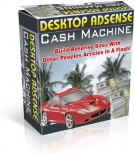 Desktop Adsense Cash Machine Private Label Rights