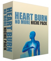 Heart Burn No More Complete Niche Site Pack Private Label Rights