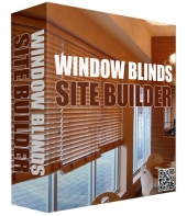 Window Blinds Site Builder Software Private Label Rights