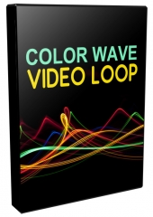 Color Wave Video Loops Pack Private Label Rights