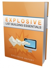 Explosive List Building Essentials Private Label Rights