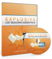 Explosive List Building Essentials Video Upgrade Private Label Rights