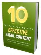 10 Tips For Effective Email Content Private Label Rights
