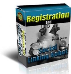 Registration and Social Linking Robot