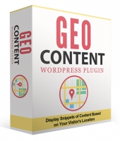 GeoContent WordPress Plugin Private Label Rights