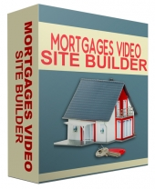 Mortgages Video Site Builder Private Label Rights