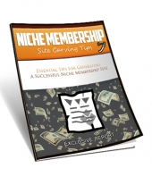 Niche Membership Site Carving Tips Private Label Rights