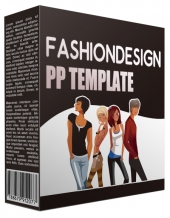 Fashion Design Multipurpose Powerpoint Template Private Label Rights