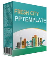 Fresh City Multipurpose Powerpoint Template Private Label Rights