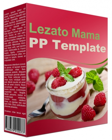 Lezato Mama Multipurpose Powerpoint Template