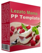Lezato Mama Multipurpose Powerpoint Template Private Label Rights