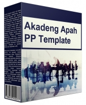 Akadeng Apah Multipurpose Powerpoint Template Private Label Rights