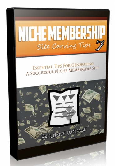 Niche Membership Site Carving Tips Video Upgrade