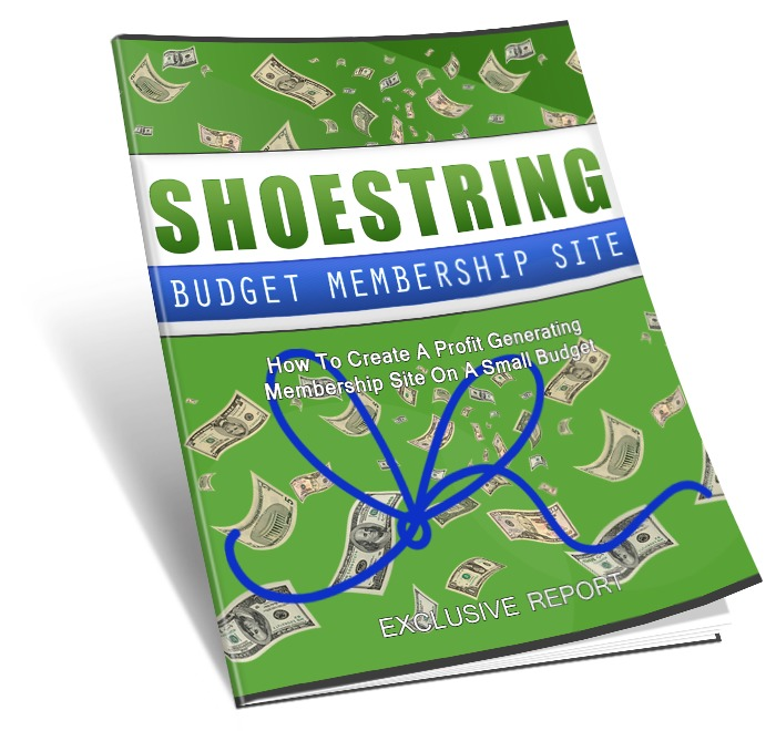 Shoestring Budget Membership Site