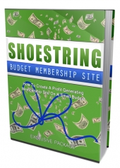 Shoestring Budget Membership Site Private Label Rights
