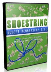 Shoestring Budget Membership Site Video Upgrade Private Label Rights