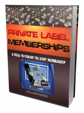 Private Label Memberships Guide Private Label Rights