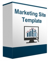 Marketing Minisite Template V82016 Private Label Rights